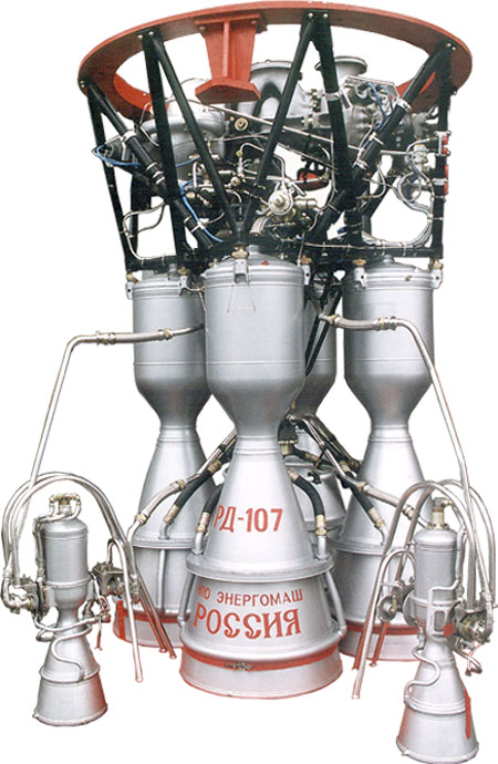Двигатель РД-107