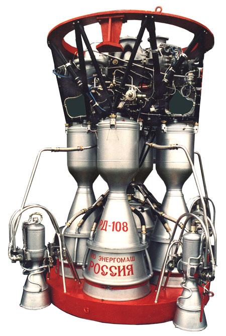 Двигатель РД-108