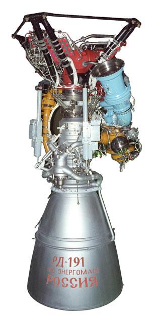 Двигатель РД-191